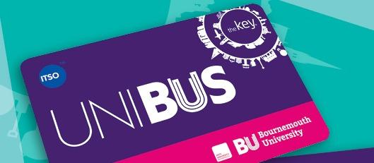 Smart travel for Bournemouth University, with the Key smartcard image